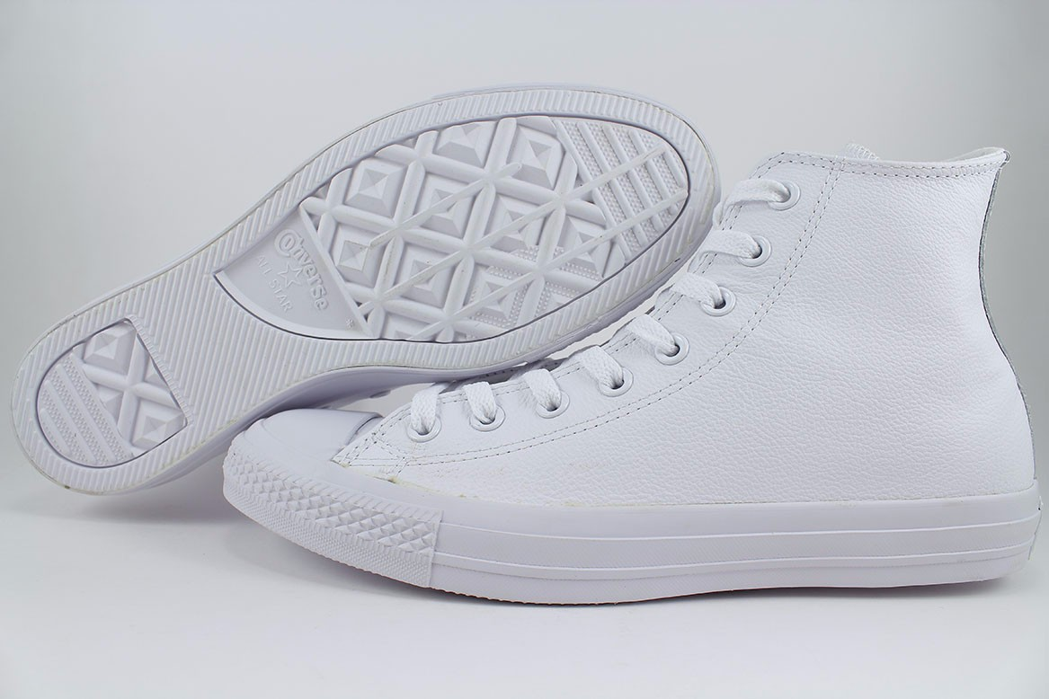 2converse all star hi leather