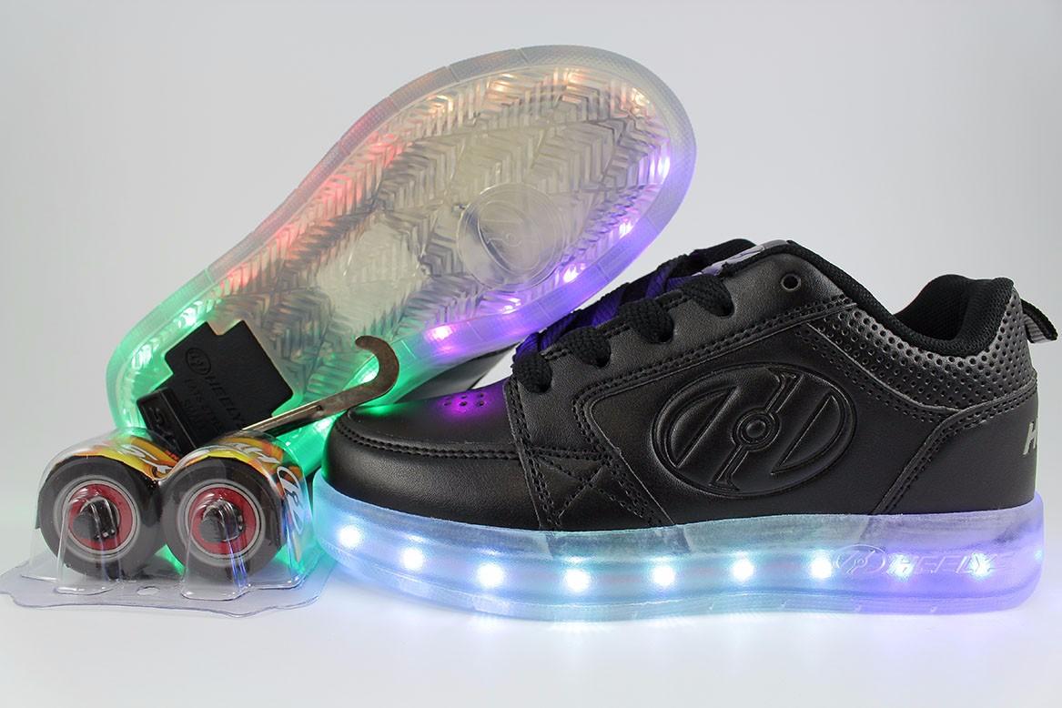 暴走鞋Premium 1 lo Triple 黑色Light Up
