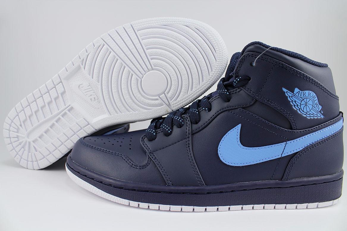 Nike Sneakers Altas Air Jordan 4 Retro - Cuero - Negro Y Azul - Caña: 7.5 cm Barato Venta Low Cost DhQTXnqM