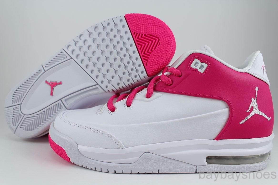 cc8670ba0f8 Air Jordan Flight 9 Womens White Grey Purple shoes