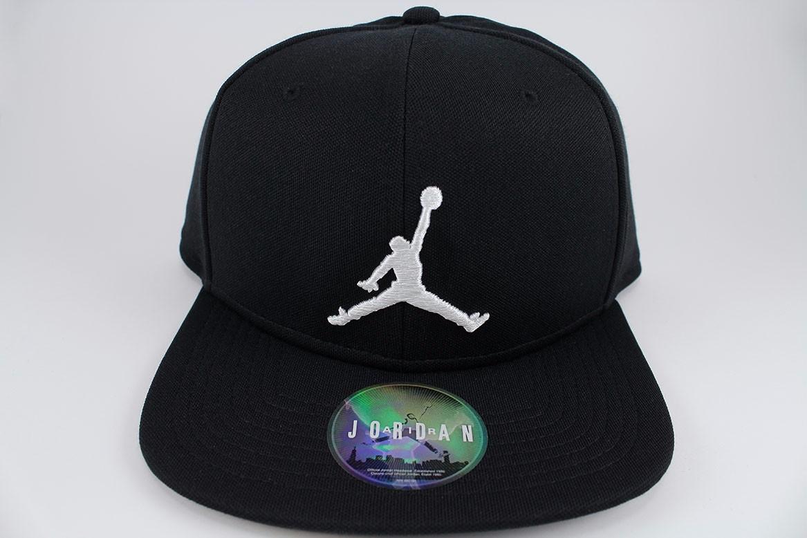 closeout nike jordan jumpman adjustable snapback cap hat black white adult  8ce2e d34f7 8f0150d7014