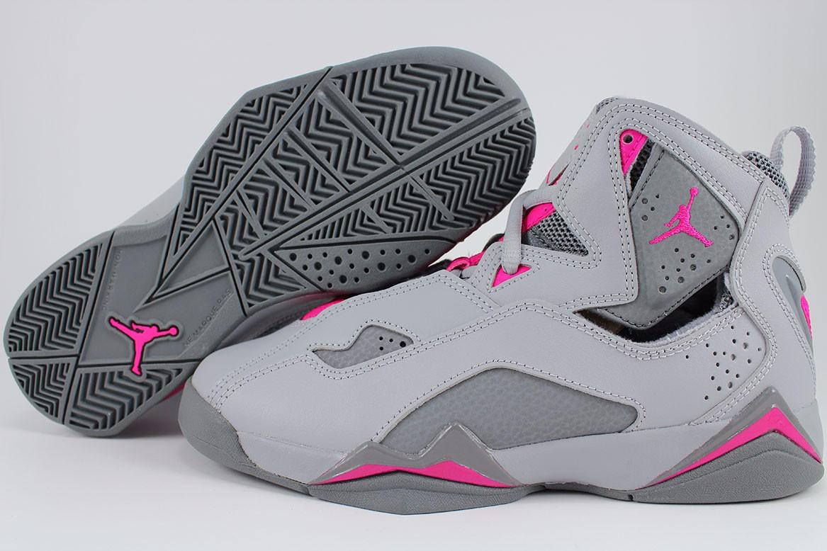 jordan shoes for women. nike air jordan true flight gray/pink cool women girls retro hi high youth sizes jordan shoes for women i