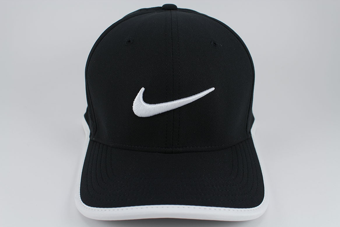 996f9117022 NIKE VAPOR CLASSIC 99 DRI-FIT ADJUST CAP HAT BLACK WHITE TRAINING ...