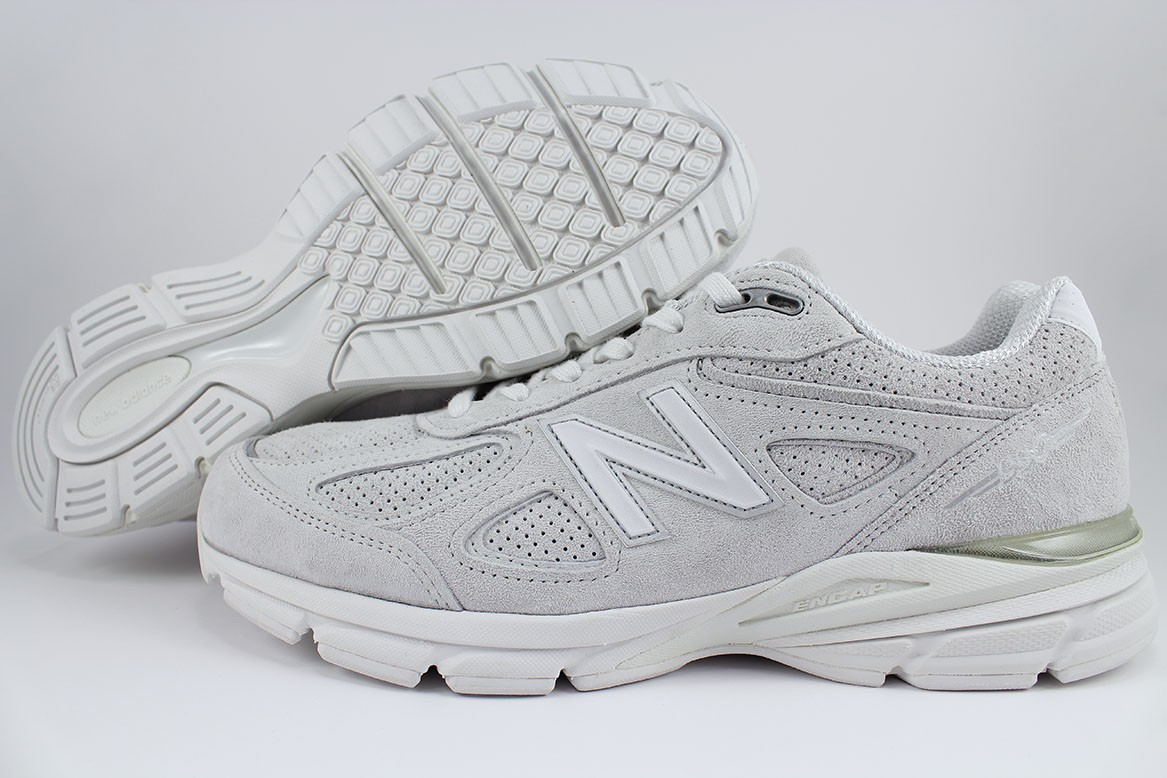 Details about NEW BALANCE 990 V4 ARCTIC FOX GRAYWHITE MADE IN USA RUNNING M990AF4 US MEN SIZE