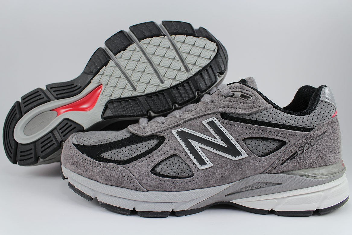 meet ce2a1 e9c4a NEW BALANCE 990 V4 MARBLEHEAD GRAY/BLACK/WHITE MADE IN USA ...