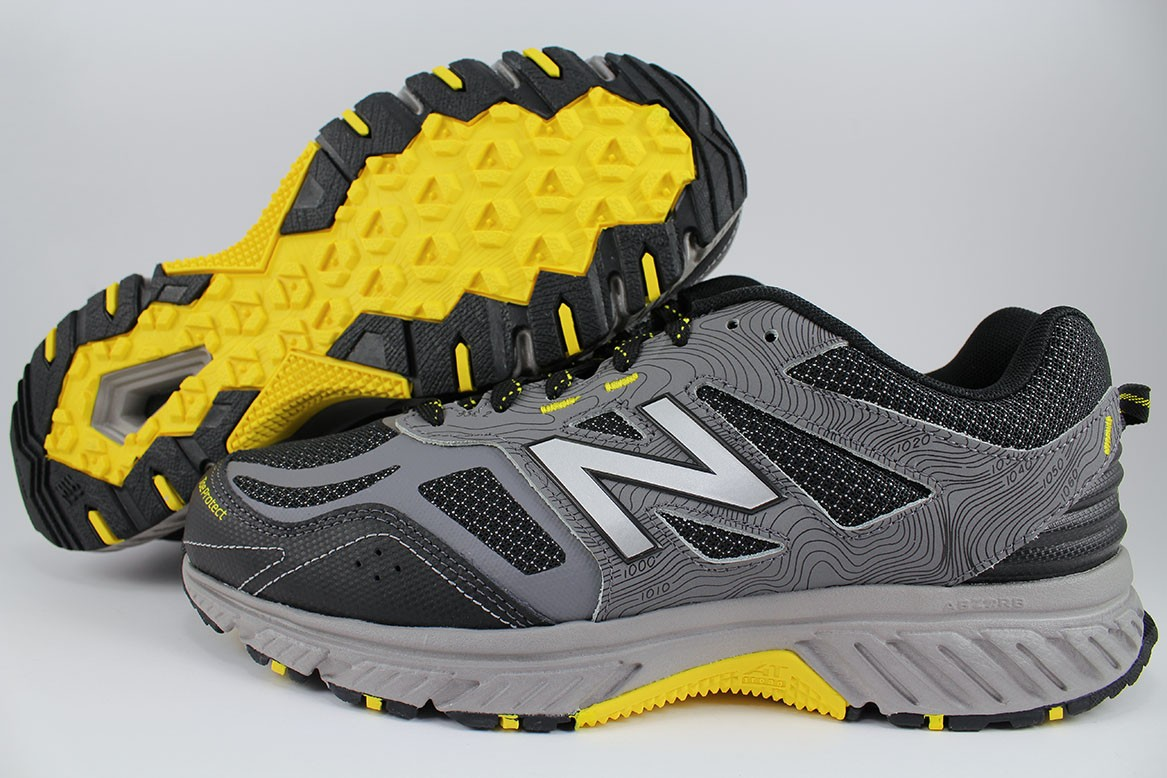 864a415367a Details about NEW BALANCE 510 V4 WIDE 4E EEEE GRAY BLACK YELLOW TRAIL  RUNNING MT510LC4 MEN SZ