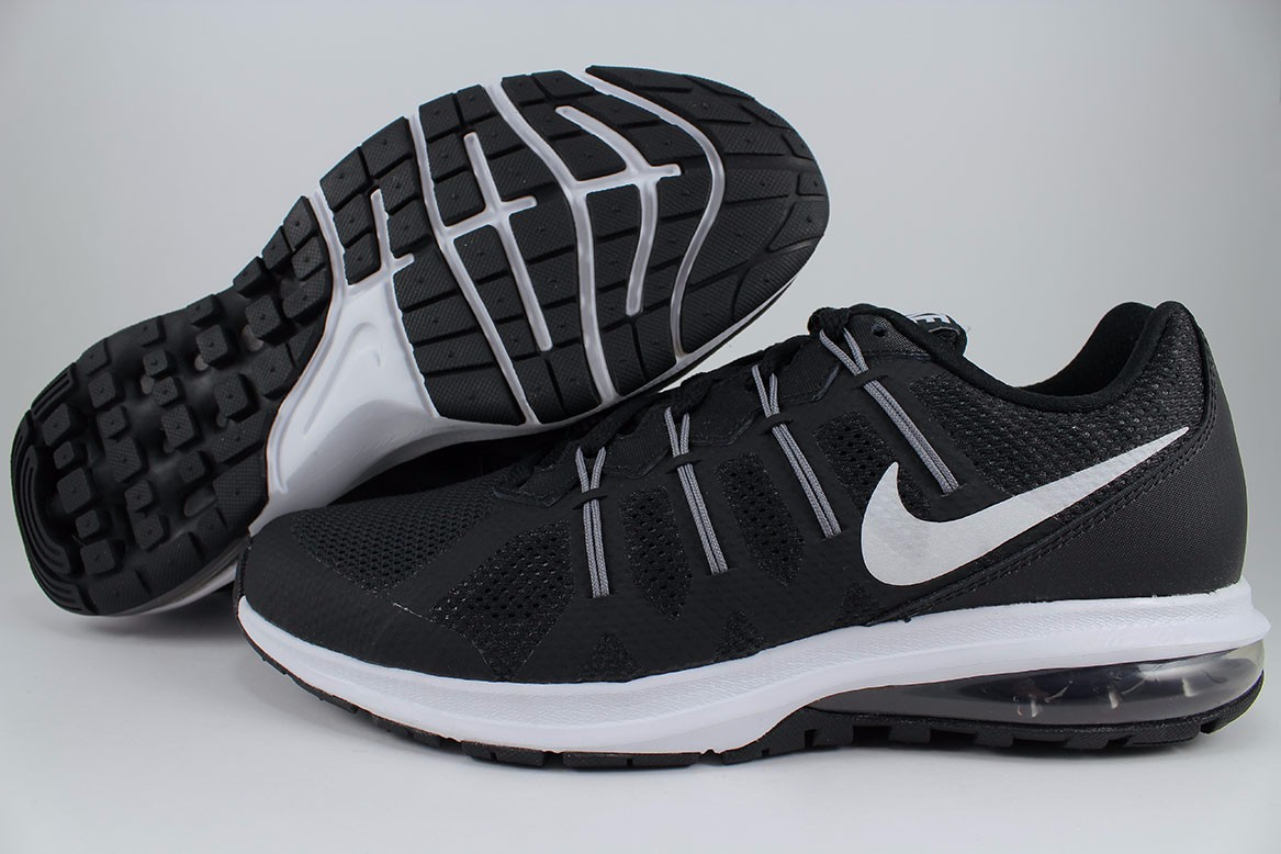 sneakers for cheap f0860 6ddce Details about NIKE AIR MAX DYNASTY BLACK WHITE GRAY TRAINER RUNNING 1 90 95  LTD DEFY MEN SIZES