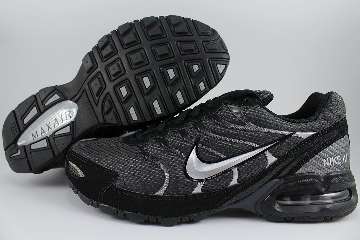 2b44c0c28c460 Details about NIKE AIR MAX TORCH 4 BLACK SILVER ANTHRACITE GRAY RUNNING  TRAINER US MENS SIZES