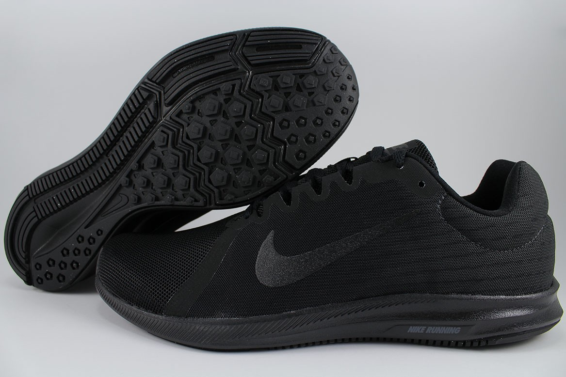 bad550b1adb6 Details about NIKE DOWNSHIFTER 8 EXTRA WIDE 4E EEEE TRIPLE BLACK RUNNING  REVOLUTION MEN SIZES
