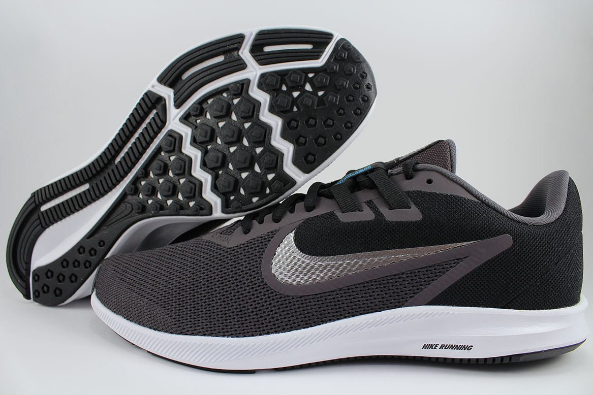 Details about NIKE DOWNSHIFTER 9 EXTRA WIDE 4E EEEE GRAYBLACKSILVER PEWTER RUNNING MEN SIZES
