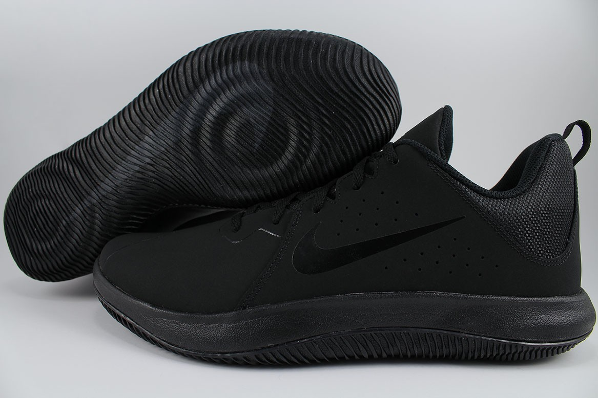 meet 85d48 3080f Details about NIKE FLY.BY LOW TRIPLE BLACK ANTHRACITE BASKETBALL OVERPLAY  VISI PRO MENS SIZE