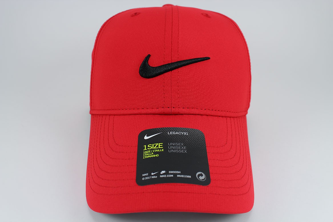 d10bc3247be10 Details about NIKE LEGACY 91 DRI-FIT ADJUST CAP HAT RED BLACK GOLF TRAINING  SWOOSH ADULT NEW