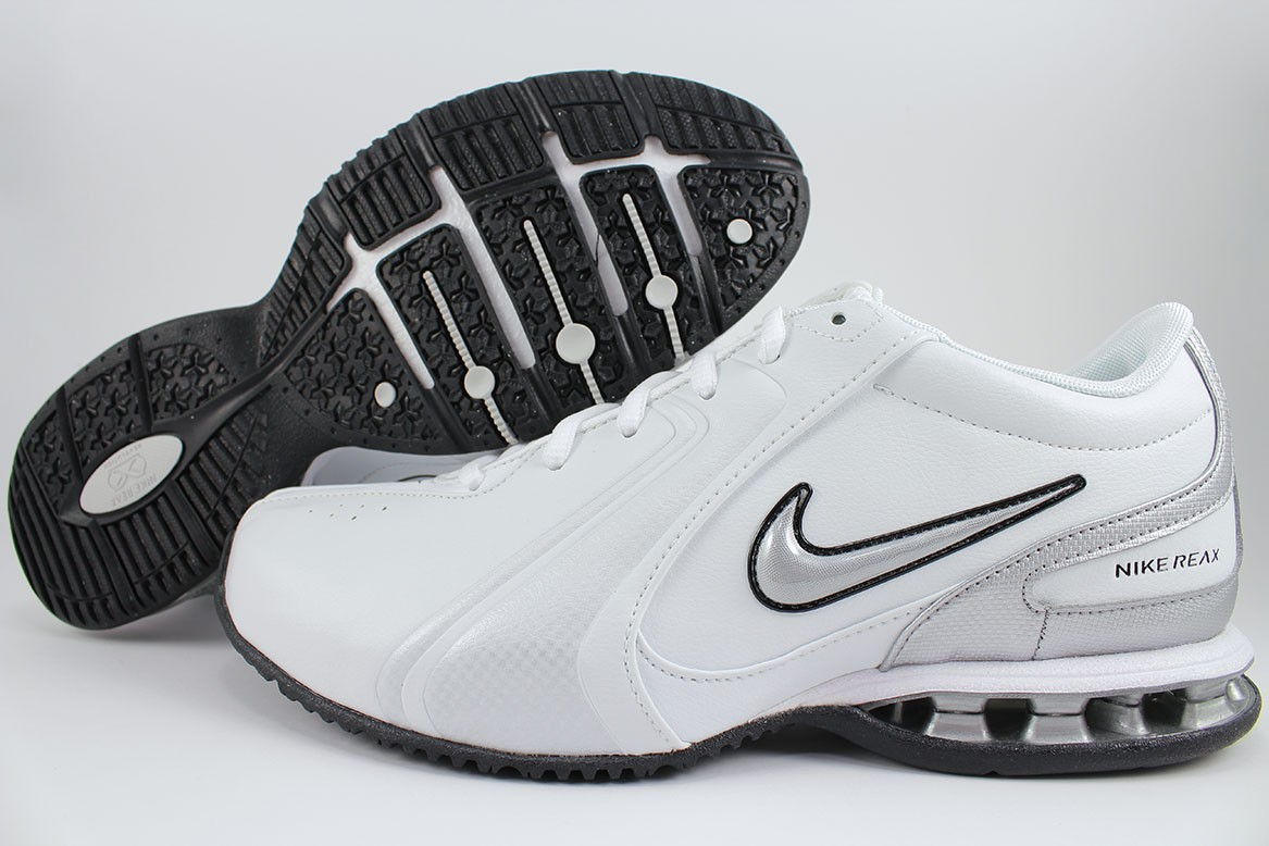 Details about NIKE REAX TR III 3 SL WHITE SILVER BLACK CROSS-TRAINER  TRAINING US MENS SIZES 27bce2912