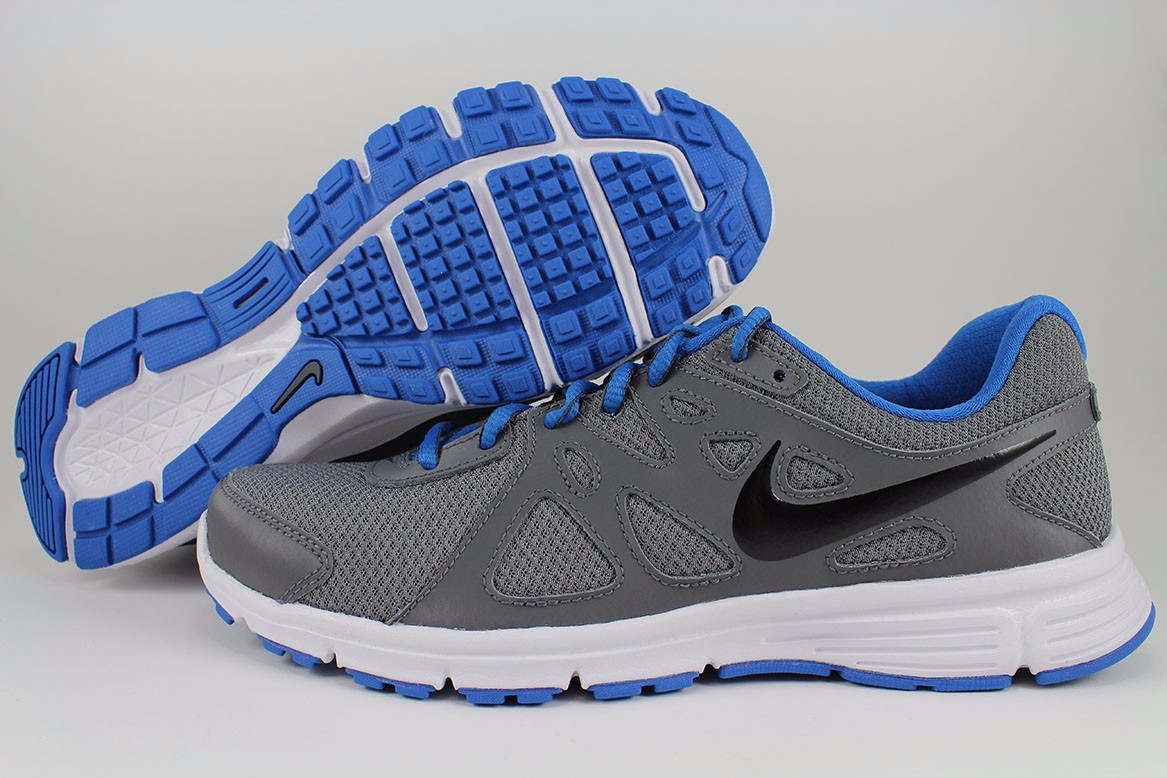 Nike Revolution 2 Dark Gray Black Military Blue White