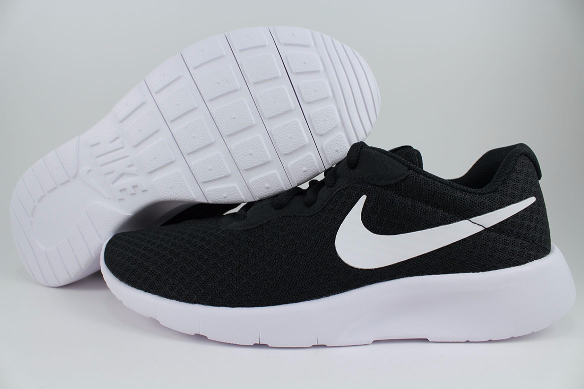 outlet store 55644 e3b91 Details about NIKE TANJUN GS BLACK WHITE ROSHE ONE RUN TWO RUNNING WOMEN  KIDS US YOUTH SIZES