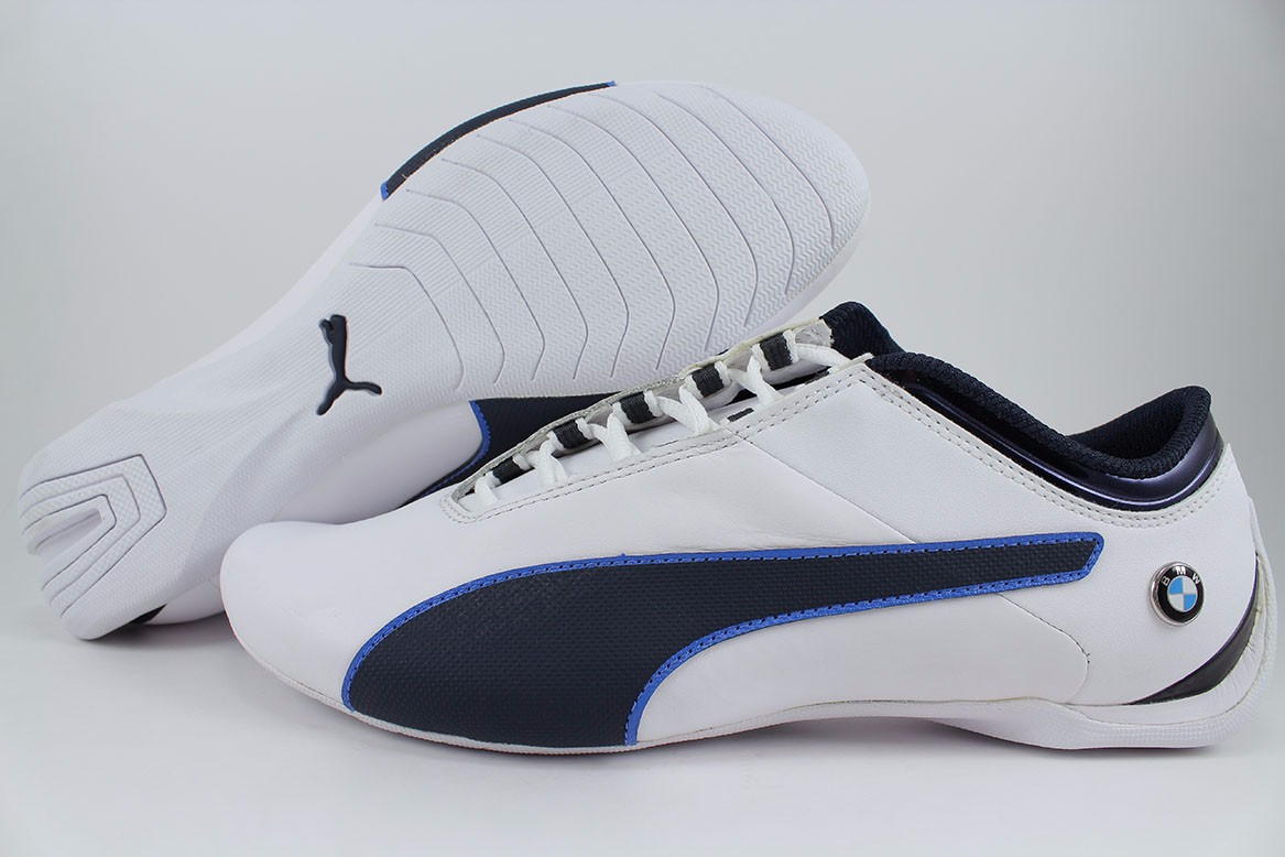 Details about PUMA BMW MS FUTURE CAT S2 WHITE TEAM BLUE BLACK NAVY F1  RACING US MENS SIZES 61f64714a