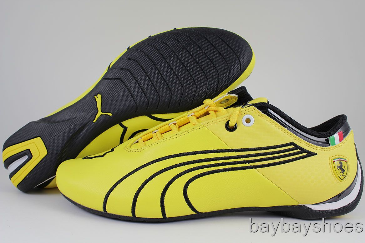 puma ferrari shoes yellow kids Puma Future Cat M1 Big Vibrant Yellow Black  ... 2591f5491