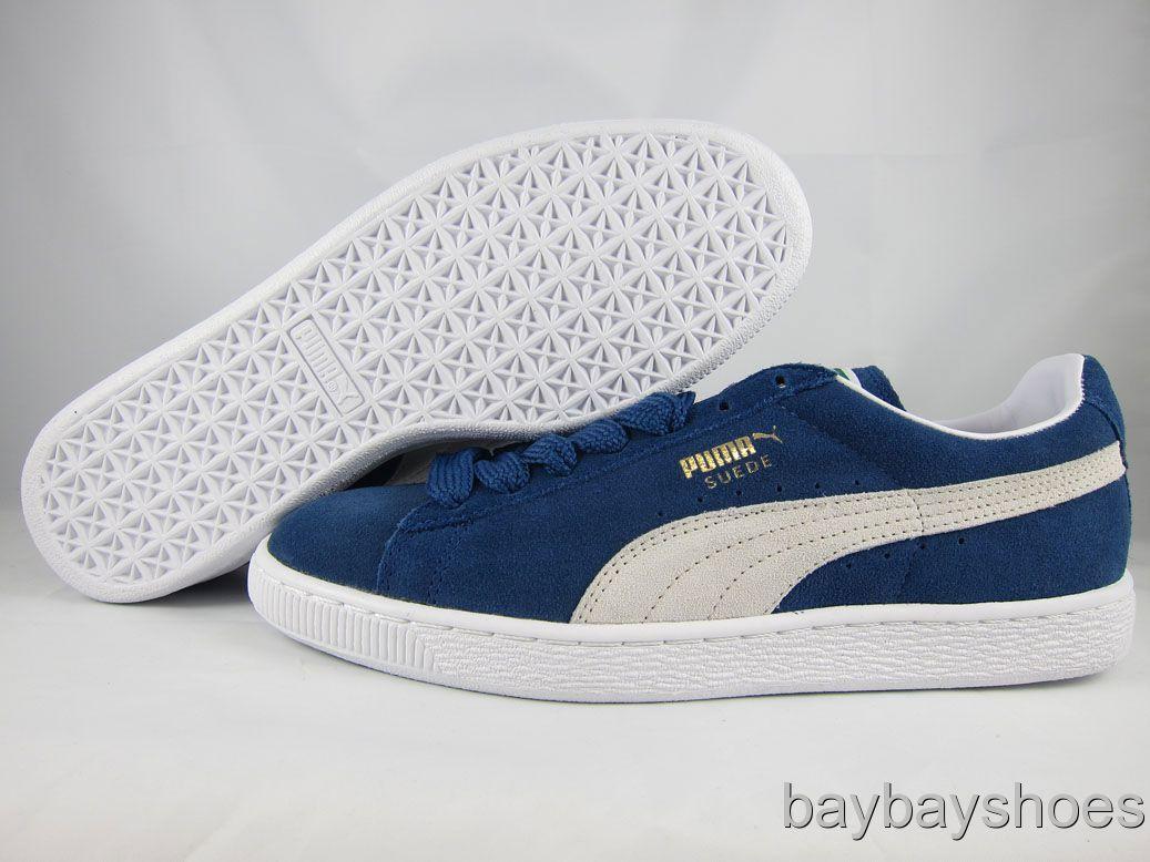 promo code 9f9e6 19d6c Puma Suede Classic Eco Blue wearpointwindfarm.co.uk