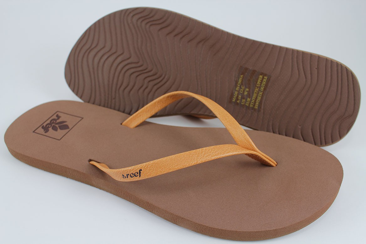e8ba9fcdb30a REEF BLISS NIGHTS COFFEE BROWN FLIP FLOPS THONG SANDALS BEACH US ...