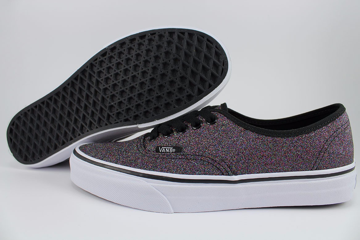 vans authentic glitzer