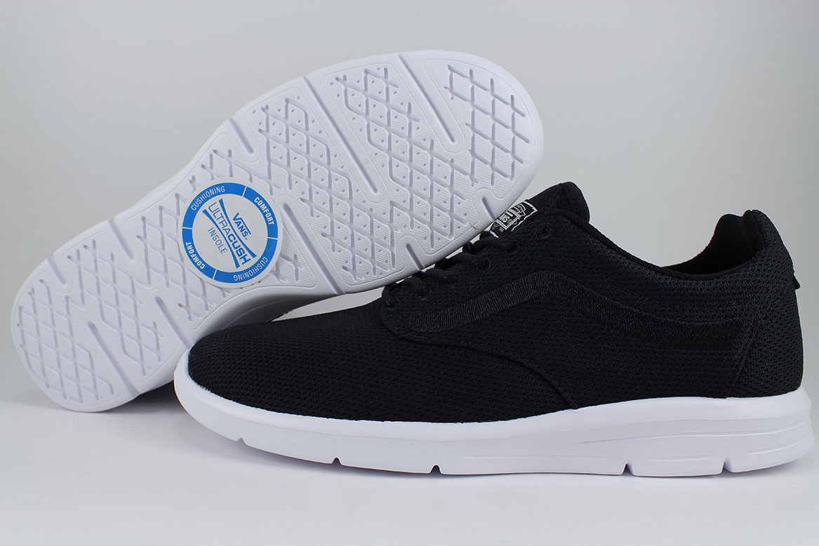 e5a35ca667ea Details about VANS ISO 1.5 MESH BLACK WHITE CASUAL ROSHE LIFESTYLE  LIGHTWEIGHT LITE MENS SIZES