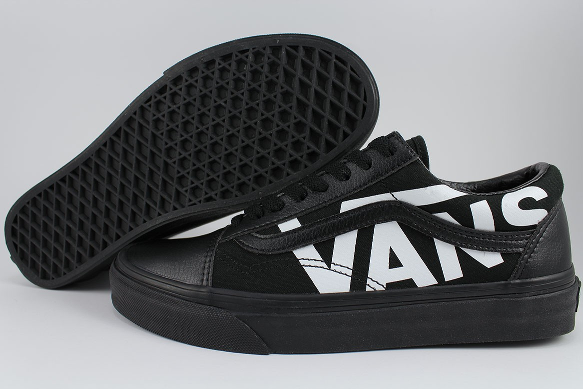 19fffc177a974c Details about VANS OLD SKOOL DROP V BIG LOGO BLACK TRUE WHITE CLASSIC SKATE  US MEN WOMEN SIZES
