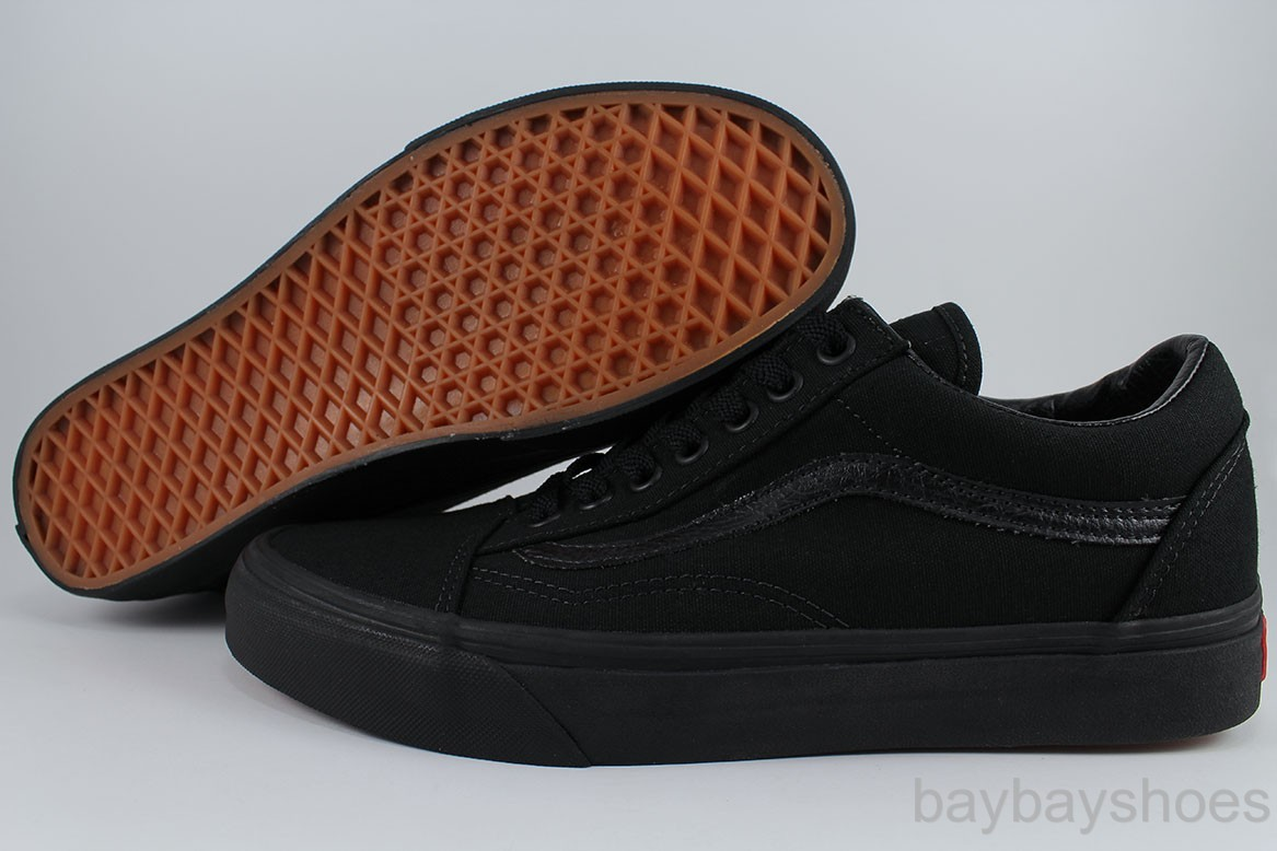 40e4abc6d37d7b Details about VANS OLD SKOOL TRIPLE BLACK BLACK CANVAS CLASSIC SKATE  0D3HBKA US MEN WOMEN SIZE