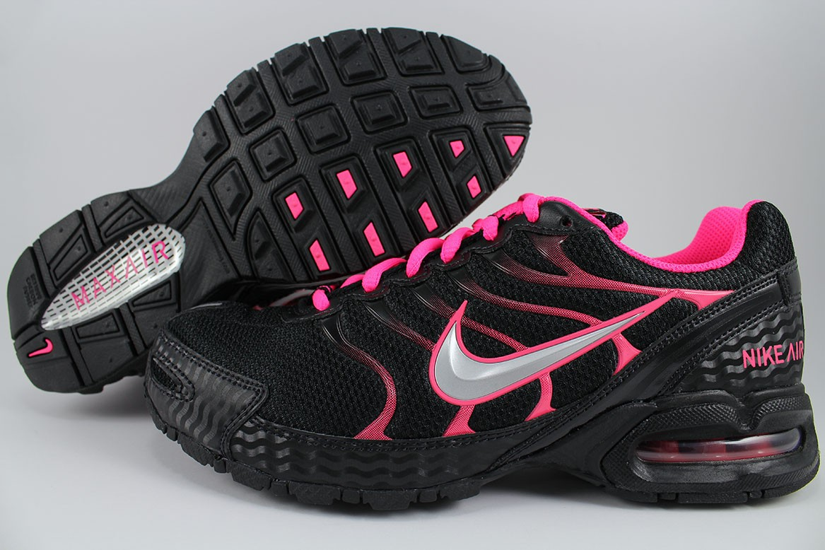 ac100ede5cad29 NIKE AIR MAX TORCH 4 BLACK SILVER PINK FLASH HOT 90 95 1 RUNNING US ...