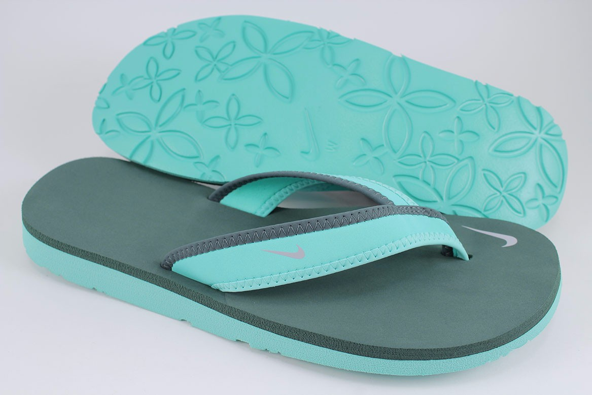 Nike Celso Girl Thong Hyper Turquoise Hasta Green Silver