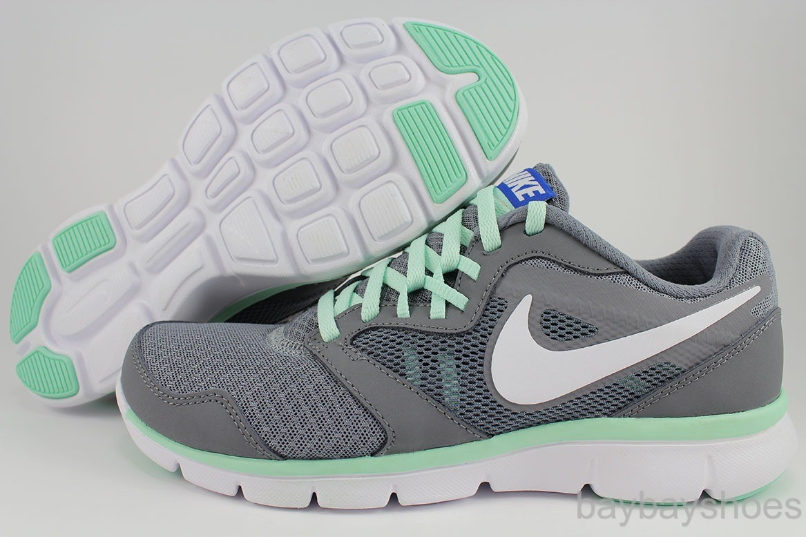 nike flex experience grey and mint green