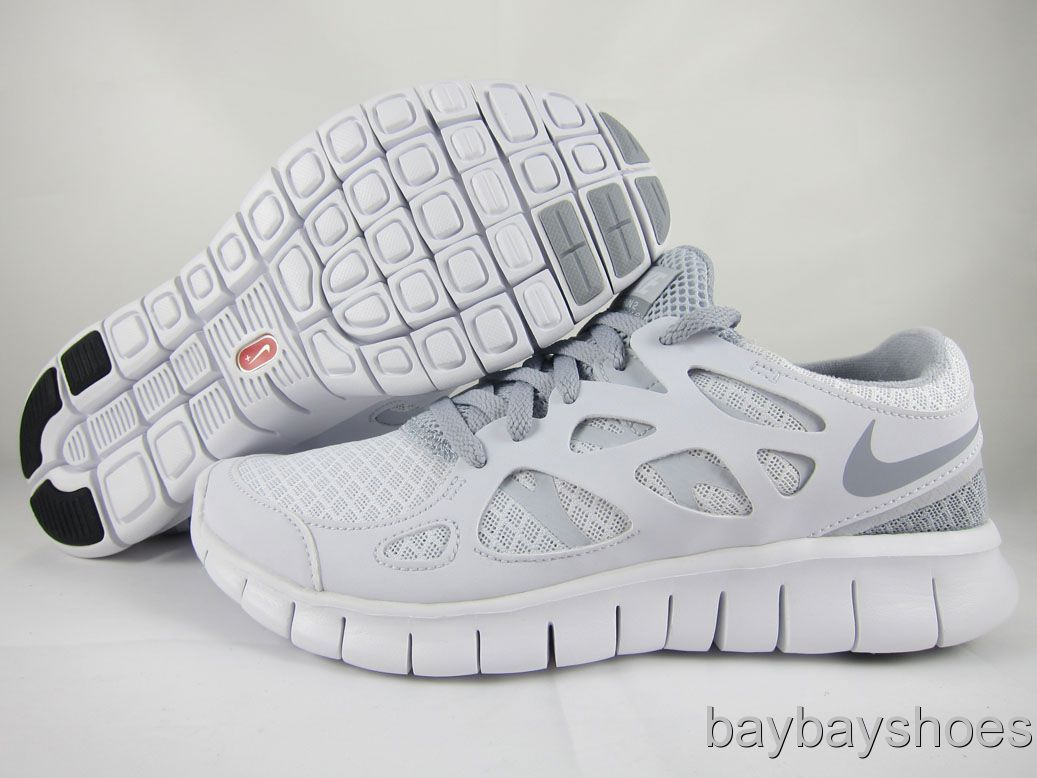 newest d9448 1afd4 nike free run all white