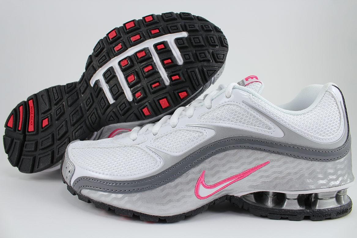 7ef42ac3c Nike Women's Reax Run 5 Running Sneaker Athletic Shoe White Pink ...