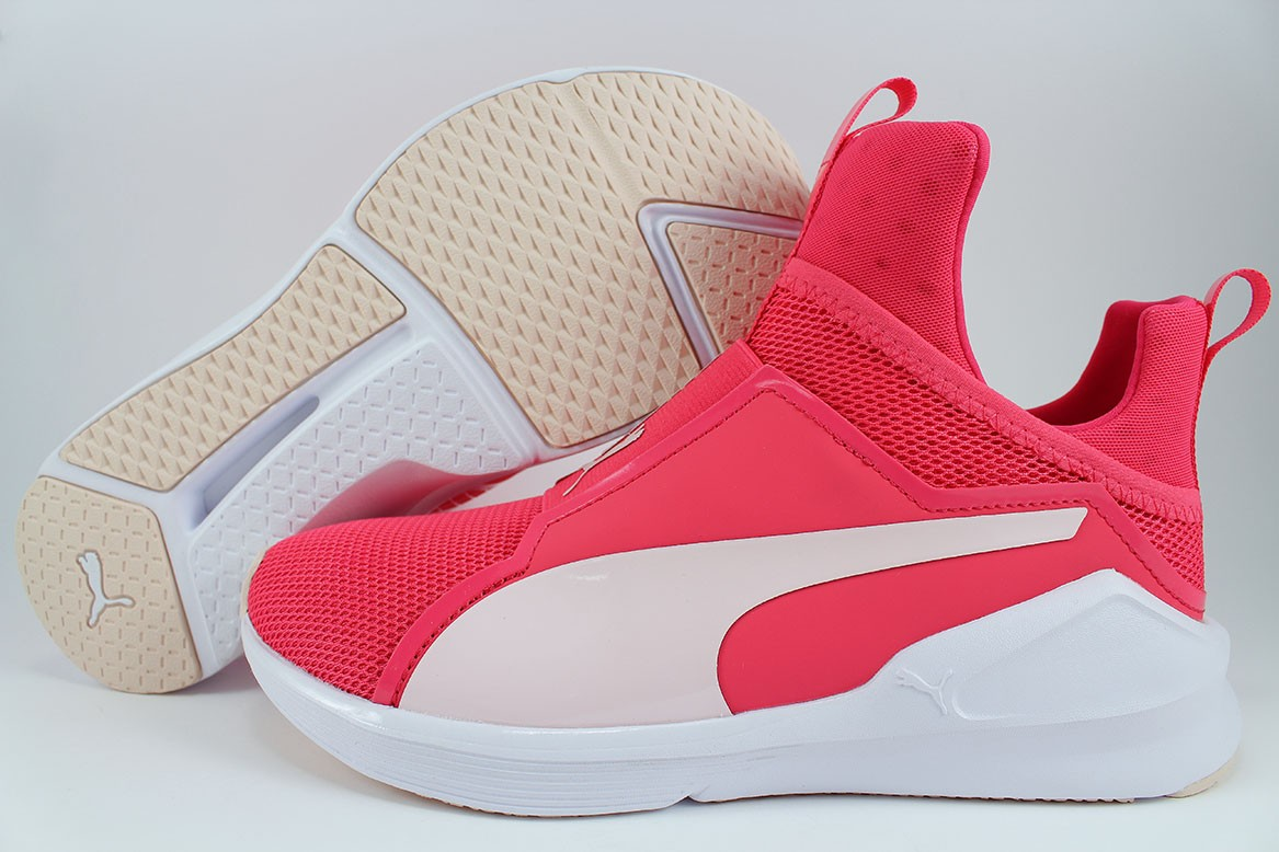 Puma Damen Fierce Core Cross Trainer (Paradise Pink White