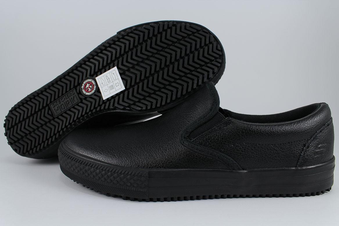 Skechers Womens Gibson Brogna Black