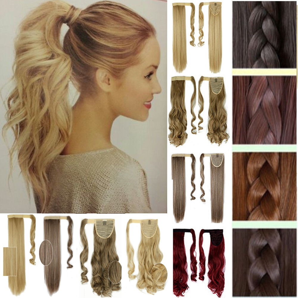 One piece clip on ponytail clip in hair extensions pony tail au sexy bangs clip on front fringe clip in hair extensions human xmas gift pmusecretfo Gallery