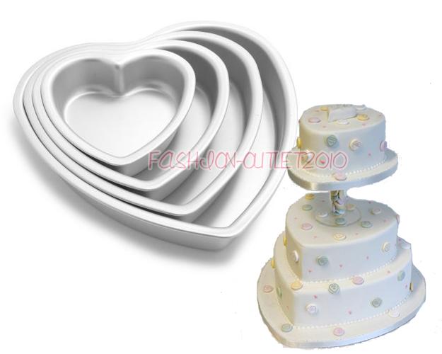 Novelty Tasty Fill Cake Pan Round Fondant Mould Baking