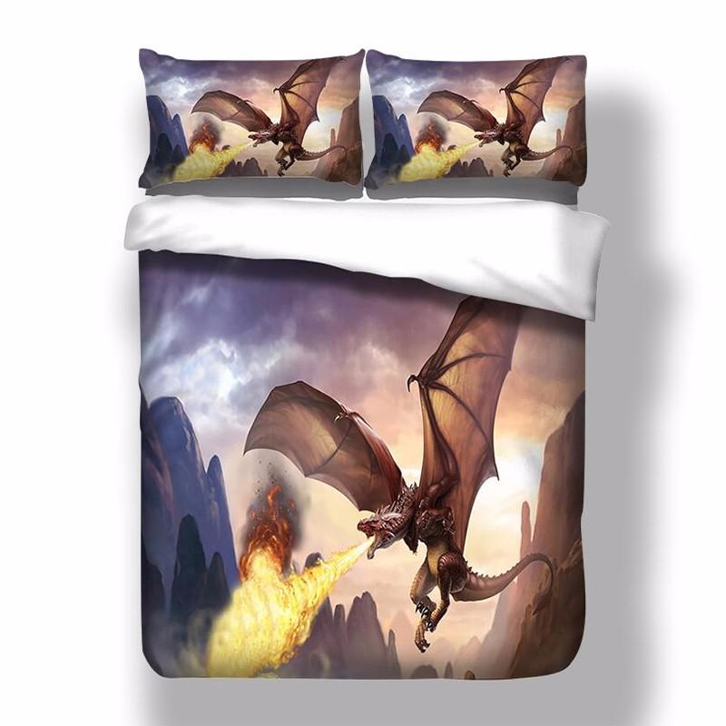 Anne Stokes Dragon Duvet Cover Pillow Cases Quilt Cover Bedding ... : dragon quilt cover - Adamdwight.com