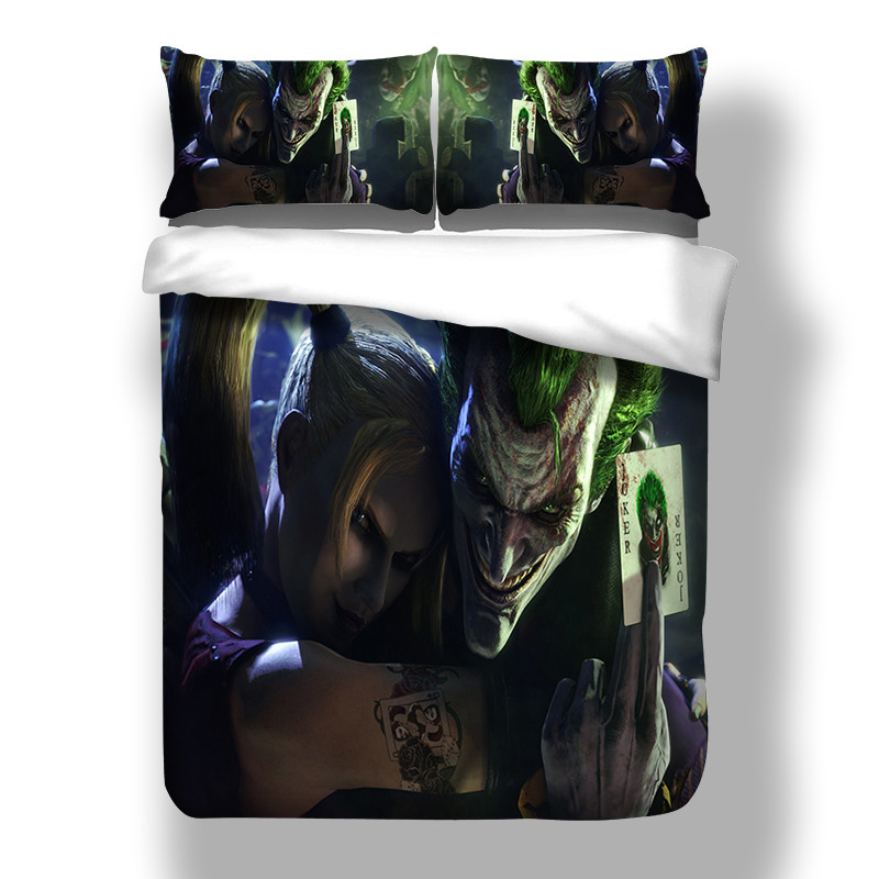 Joker Duvet Doona Quilt Covers Set Double Queen King Size