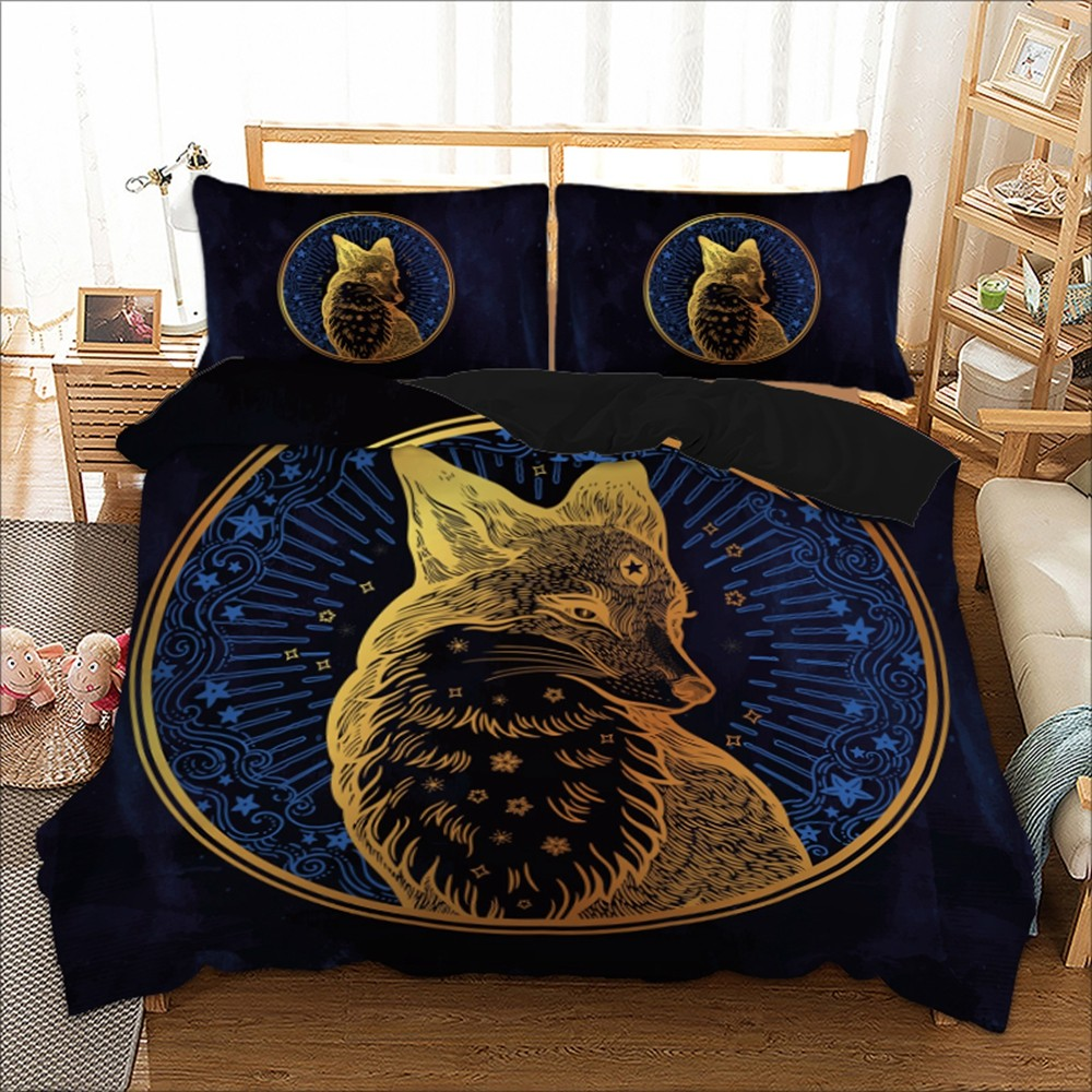 3D Animal Duvet Covers Quilt Covers Reversible Bedding Sets 5 Designs