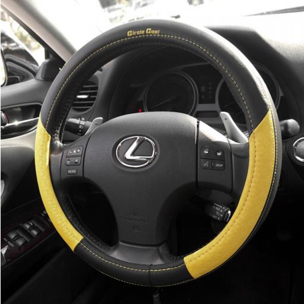 58011-14 Acura Steering Wheel Overlay Cover Red/Yellow