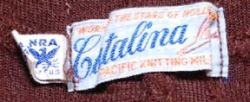 1930's Catalina Label