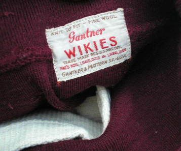 1930s Gantner Label