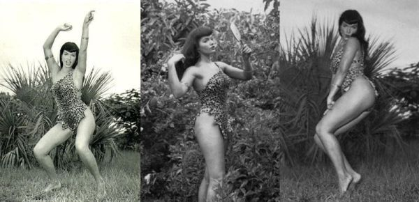 Bettie Page Jungle Series by Bunny Yeager