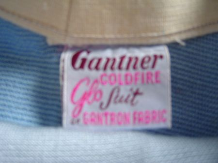 1940s Gantner Label