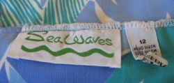 1970'S Sea Waves label