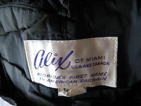 50's alix of Miami Label