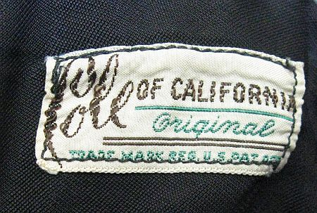 1947 Cole of California label