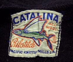1920's Catalina Label