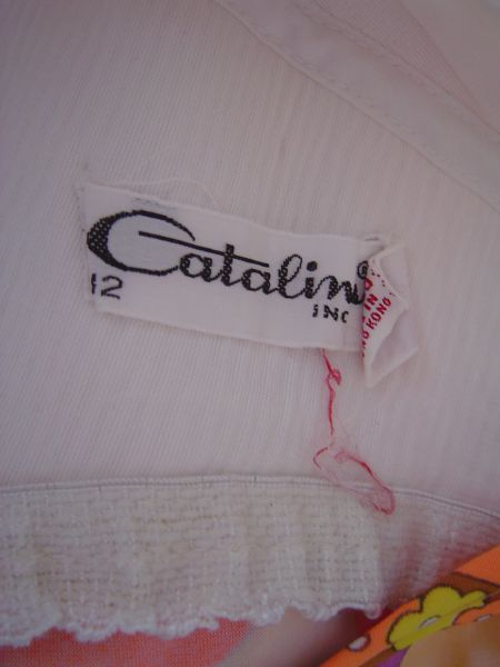 60's Catalina Label
