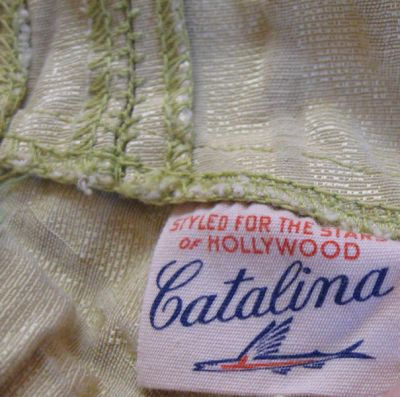 40's Catalina label